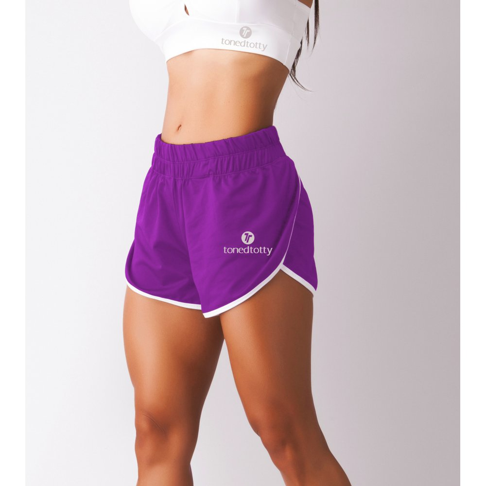 Ladies Sports Fitness Running Shorts