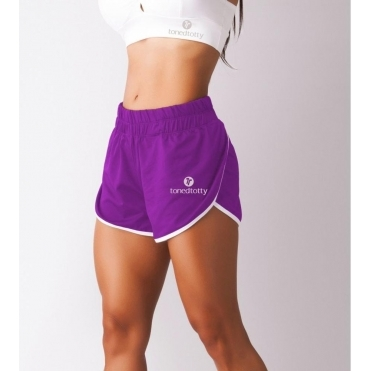 TTSport 'Freestyle' Sports Shorts Purple