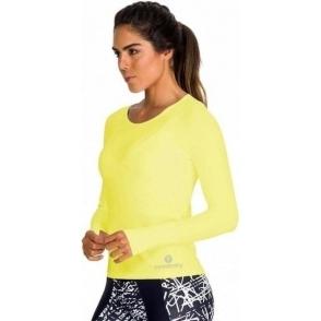 'Ultracool' Neon Yellow Sports Top