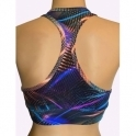 'Urban Jungle' Vibrant Coloured Sports Bra
