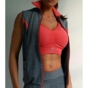 'Urbano' Fitness Crop Top 2 Colours