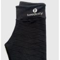 'Walk The Walk' Luxury Black Fitness Leggings