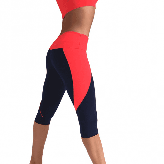 'We're Blushing' Supplex Capri Fitness Leggings