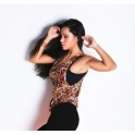 'Wild Rock' Loose Fit Fitness Top