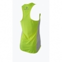 Women's Dip Hem 'Jet-Set-Go' Fitness Vest Top 2 Colours
