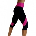 Womens 'Go-Getter' Sports Fitness 3/4 Leggings