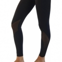 Women's 'Hotting Up' Luxury Black Fitness Leggings