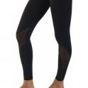 Women's 'Hotting Up' Luxury Black Fitness Leggings
