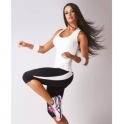 Womens Sports Performance 'Tactics' Capri Legging