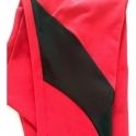 Women's 'Vamp It Up' Luxury Red Fitness Leggings
