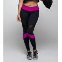 'Wonder Woman' Light Supplex Tulle Gym Leggings