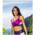 'You Pink Too Much' Lycra Sports Bra Top