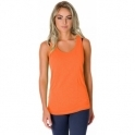 'Zesty Vesty' Orange Fitness Vest Top