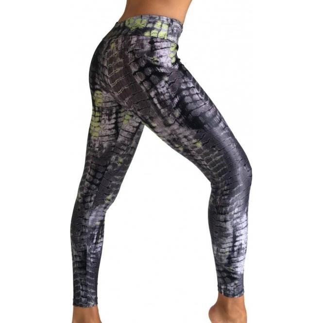 'Zig-a-zig-ah' Cire Womens Gym Leggings
