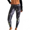 'Zig-a-zig-ah' Cire Womens Gym Leggings